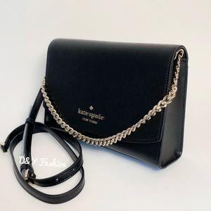 Kate Spade Black Carson Convertible Crossbody Bag